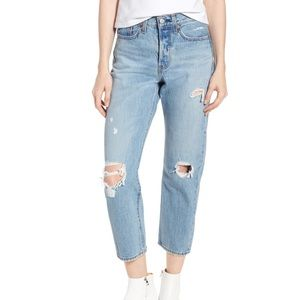 Levi's Wedgie Straight Jean in Authentically Yours